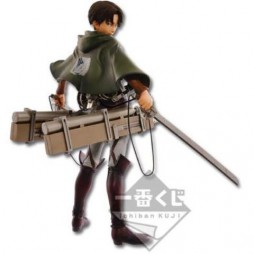 Attack on Titan - L\'Attacco dei Giganti - Ichiban Kuji Shingeki no Kyojin - Kuji Dakkan Sakusen - LOT A Figure Levi Riva