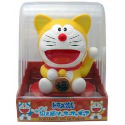 Doraemon - Maneki Neko Solar Figure - Doraemon Giallo