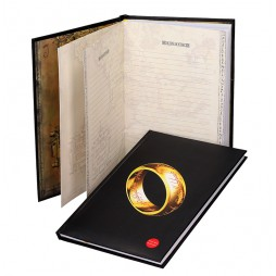 Lord Of The Rings - The One Ring - Big Notebook con logo luminoso