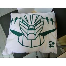 Kotetsu Jeeg - Cuscino - bianco/verde