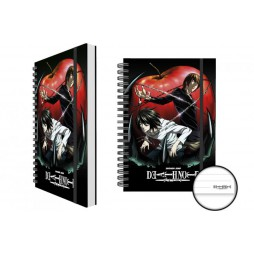 Death Note - APPLE - Light Yagami and L - A5 Notebook