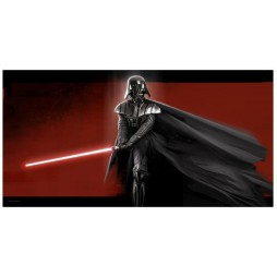 Star Wars - Darth Vader On Glass - Poster Darth Vader Su Vetro Temprato