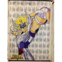 Saint Seiya - Next Dimension Myth of Hades - Cygnus no Hyoga V1 - Poster - Wall Scroll in Stoffa