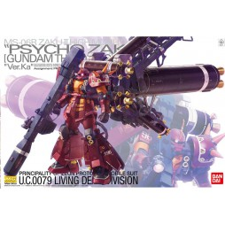MG Master Grade - MS-06R-2 Zaku II High Mobility Psycho Zaku Ver.Ka U.C.0079 Living Dead Division 1/100