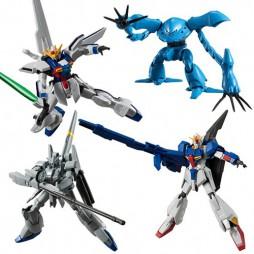 Mobile Suit Gundam - Gundam Shokugan Universal Unit 02 - Complete Box Set of 10 Mini Trading Action Figure