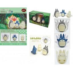 Il Mio Vicino Totoro - My Neighbour Totoro - Totoro Mini Dancing 3 Figure Set - Mini Diorama Componibile