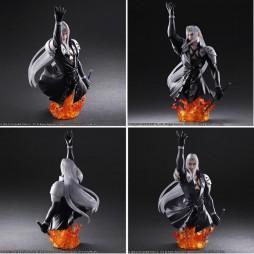 Final Fantasy VII Advent Children - Play Arts Kai - Static Arts Bust No.03 - SEPHIROTH