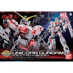 MEGA SIZE Model 381 - Unicorn Gundam Destroy Mode Mega Size 1/48