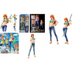 MegaHouse - Variable Action Heroes - One Piece - Nami - Action Figure