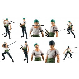 MegaHouse - Variable Action Heroes - One Piece - Roronoa Zoro Past Blue - Action Figure