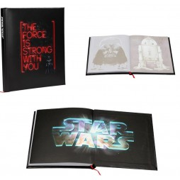 Star Wars - Light and Sound Notebook - Darth Vader The Force Is Strong With You