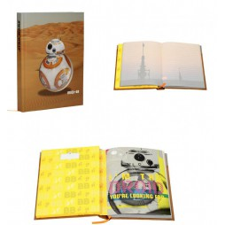 Star Wars - Light and Sound + Spin Movement Notebook - BB-8