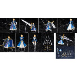Bandai - Tamashi A.G.P. Armored Girls Project- Fate/Stay Night - Saber/Altria Pendragon & Variable Excalibur - Action Fi