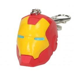Marvel Comics - Keyring - 3D PVC - Iron Man Coloured Helmet - Portachiavi
