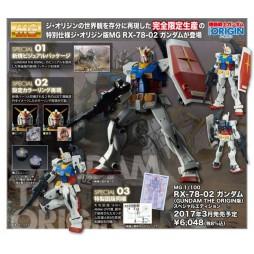 MG Master Grade - RX-78-2 Gundam The Origin - E.F.S.F. Prototype Close-Combat Mobile Suit Spec. Edition 1/100