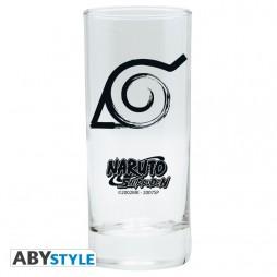 Naruto Shippuden - Bicchiere - KONOHA Clan Symbol