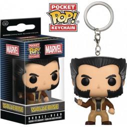 Pocket POP! Marvel Comics - Wolverine - Logan - Vinyl Figure Keychain