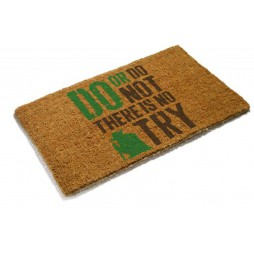 Star Wars - Doormat - Zerbino - Yoda Do Or Do Not There\'s No Try - SD Toys
