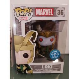 POP! Marvel 036 Loki Frost Giant Underground Toys Limited Vinyl Bobble-Head Figure