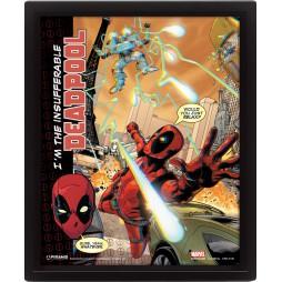 Poster 3D Lenticolare - Marvel Comics - Deadpool - Poster - Deadpool Cover