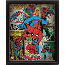 Poster 3D Lenticolare - Marvel Comics - Spider-Man - Poster - Classic Spider-Man Cover