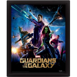 Poster 3D Lenticolare - Star Wars - Guardians Of The Galaxy - Poster - Guardians Of The Galaxy Movie Poster