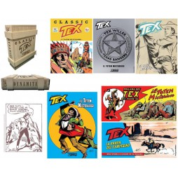 Tex Willer - Tex Dynamite - Box Set - Special Limited Edistion - Box In Legno