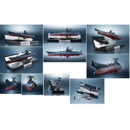 Cosmo Fleet Space Battleship Yamato 2202 - Kikan Taizen MK 1/2000 - Bandai - Space Battleship Yamato