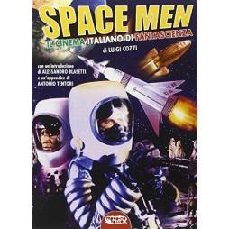 Space men: il cinema italiano di fantascienza - di Luigi Cozzii - Brossura
