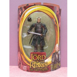 Lord of the Rings The Two Towers - Il Signore degli Anelli - Re Theoden in Armatura (Sword Slashing Action) Action Fig