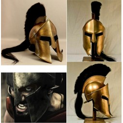 300 - The Movie - 1/1 SCALE Helmet - Spartan King Leonidas