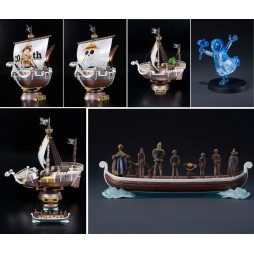 One Piece - 20TH Anniversary - PREM DIE CAST MODEL - GOING MERRY - Memorial Ristampa