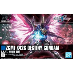 HG Cosmic Era 224 - Gundam Destiny Z.G.M.F.-X42S Destiny Gundam Z.A.F.T. Mobile Suit 1/144