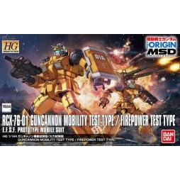 HG Gundam The Origin 014 - RCX-76-01 Guncannon Mobility Test/Firepower Test Type E.F.S.F. Prototype MOBILE SUIT 1/144