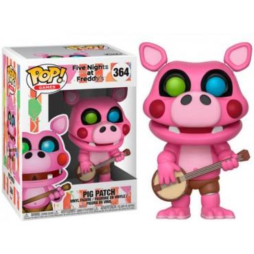 POP! Games 364 Five Nights at Freddy\'s Pizzeria Simulator Pig Patch Deformed Vinyl Figure