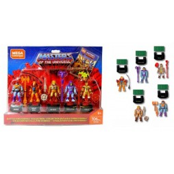 Masters of the Universe - Mega Construx Probuilder Construction Set - Action Figures 5-Pack Battle for Eternia