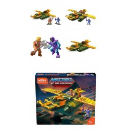 Masters of the Universe - Mega Construx Probuilder Construction Set - Wind Raider Attack