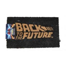 Back To The Future - Ritorno Al Futuro - Doormat - Zerbino - Logo - Nero - SD Toys