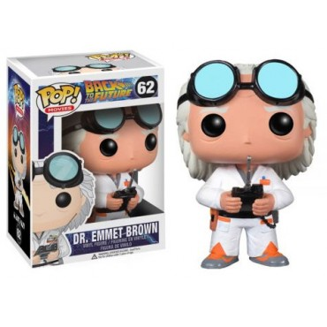 POP! Movies 062 Back to the Future Dr Emmet Brown Vinyl Figure