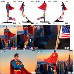 DC Comics - Superman - Superman The Movie (1978) - Iron Studios - 1/10 Scale Statue - Superman