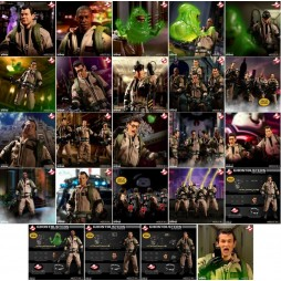 Mezco Toys - One Twelve Collective - Ghostbusters The Movie - Ghostbusters Collection Tin Box Set - Action Figure - Clot