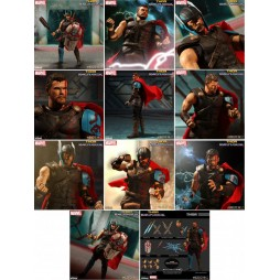 Mezco Toys - One Twelve Collective - Marvel Comics - Gladiator Thor Thor Ragnarok Version - Action Figure - Cloth Versio