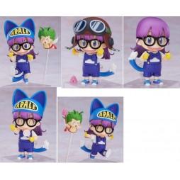 Nendoroid - 1009 - Dr Slump & Arale Chan - Action Figure - Arale Norimaki Cat Ears Ver. & Gatchan