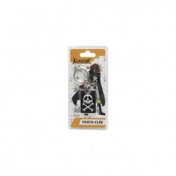 Space Pirate Captain Herlock - Capitan Harlock - Keychain - Metal 3D Vers. - AbyStyle - Harlock Bandiera Pirata