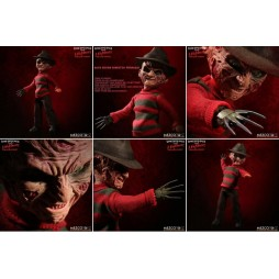 A Nightmare On Elm Street - Mezco Toys - Living Dead Dolls - Freddy Krueger - Doll With Sound and Cloth Version - Action