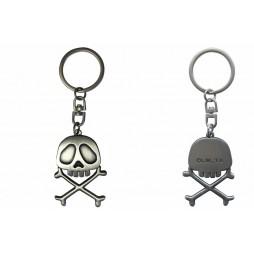 Space Pirate Captain Herlock - Capitan Harlock - Keychain - Metal 3D Vers. - AbyStyle - Harlock Emblema 3D