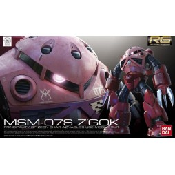RG Real Grade - 16 MSM-07S Z\'Gok Principality Of Zeon Char Aznable\'s Use Mobile Suit Type 1/144