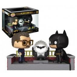 POP! Heroes 291 DC Comics Super Heroes Batman Begins Batman and Commissioner Gordon MOVIE MOMENTS 80th Anniversary 4-inc