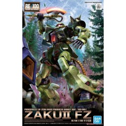 Gundam RE/100 013 - Principality Of Zeon Mass Produced Mobile Suit / MS 06-FZ Zaku II FZ 1/100
