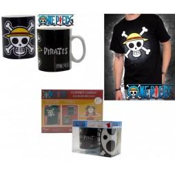 One Piece - Box GIFT SET - T-SHIRT Taglia M + TAZZA- Mug